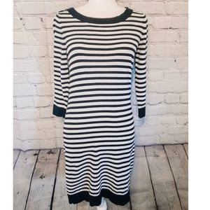 NWOT Banana Republic Striped Knit Sweater Dress